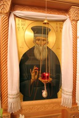 St Cosmas, Pascha 2006